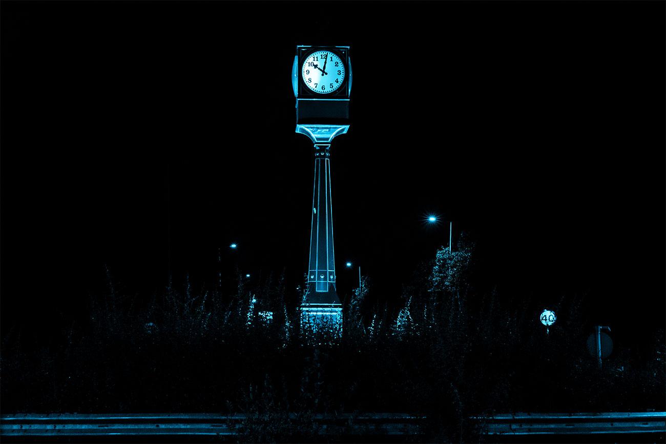 Toomeys Roundabout Clock