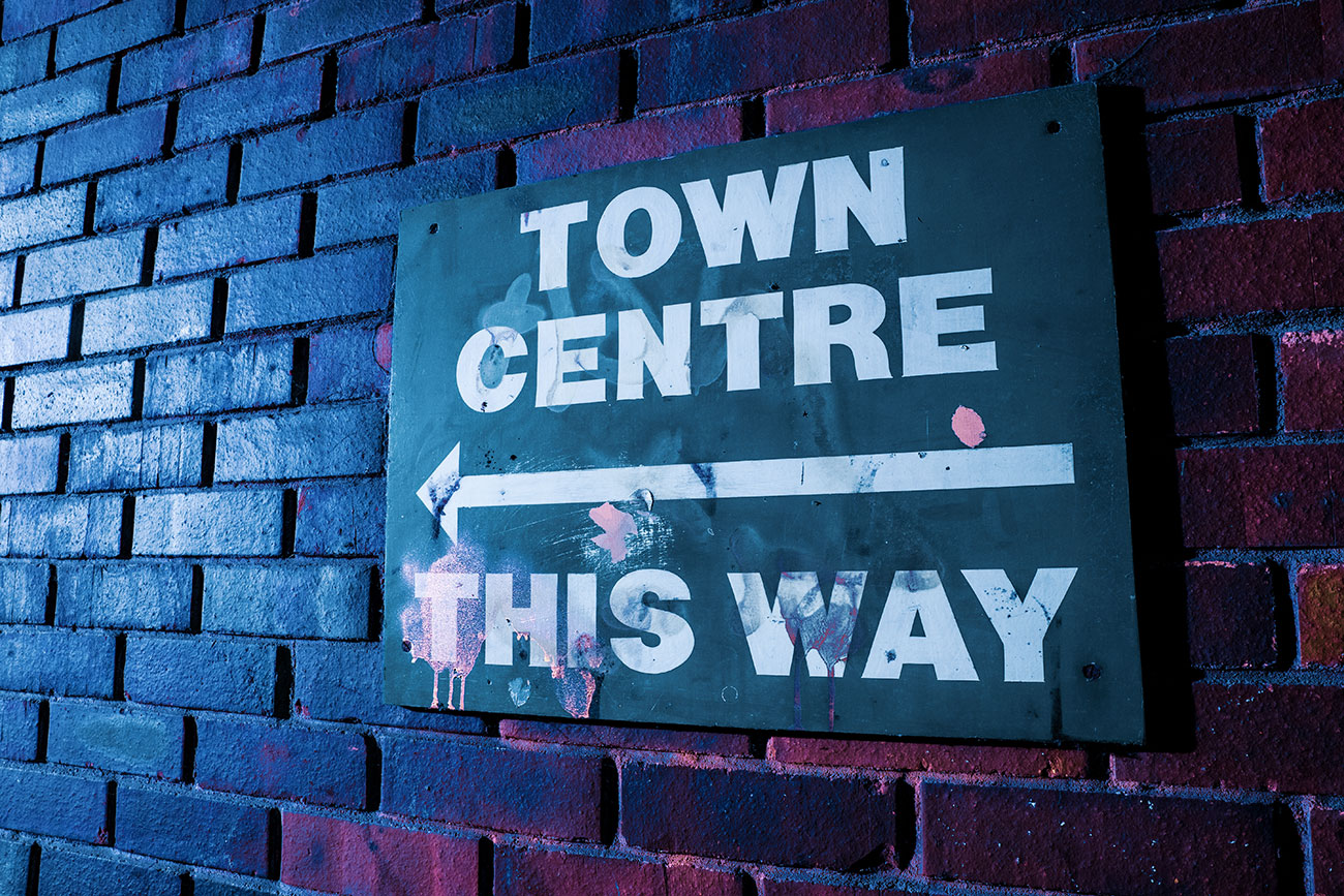 Town Centre This Way